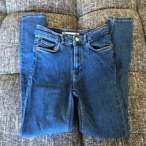 Zara High-Rise Jeans